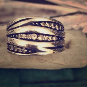 Silpada Sterling Silver Organics Ring